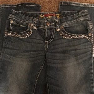 Maurices Jeans - Maurice's jeans with nicely embellished pockets.